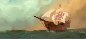 Hidden Armada Banner by michaeldoig