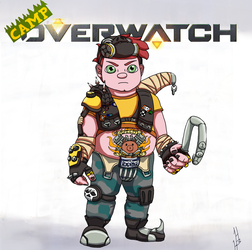 Camp Overwatch: Nurf by DragonWorlock