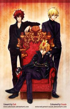 Vongola I by Red-Priest-Usada