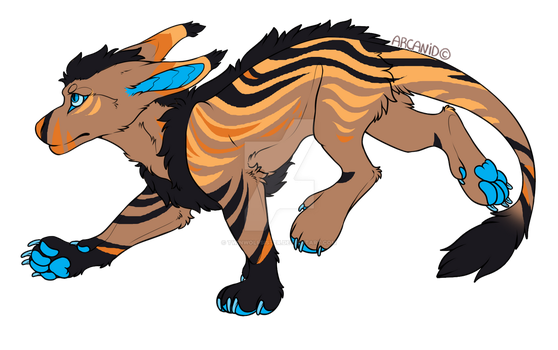 Lago'Nyra - Breedable Vernid Female by TwinWolfSister