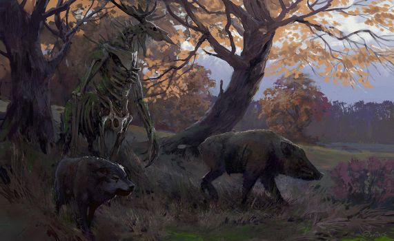 Spirit of the ill forest. by SergeyDemidov