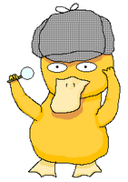 Psyduck Holmes by Ocelorean