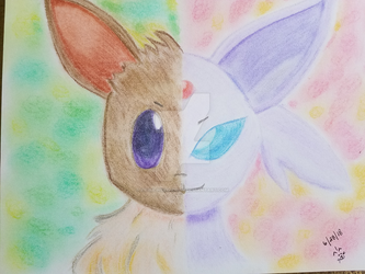 Eeveelution by Kyria-Neko-Chan