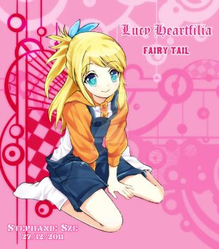 Lucy Heartfilia by Argent-Shadow