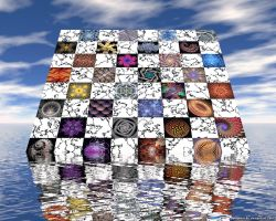 Fractal Chessboard by VickyM72