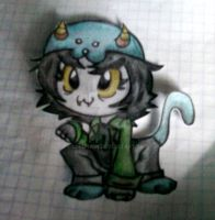 .:Nepeta Sketch:. by Lord-Hon