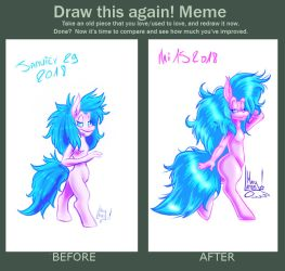 Draw This Again Meme - Dousyr by MarylandsDrawing2525