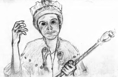 the current King of England by sfxdx