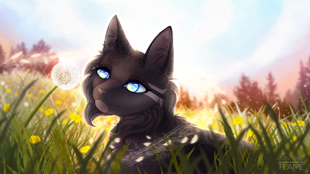 Bright Eyes : Speedpaint by Mythic-Flame