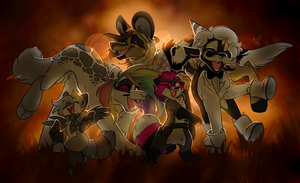 Dancin round the campfire by Loopy44