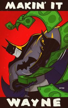 batman: makin it wayne by m7781