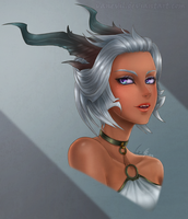 C: Adrielle :Character Design: by VanEvil