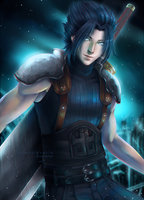 Zack Fair by SirensReverie