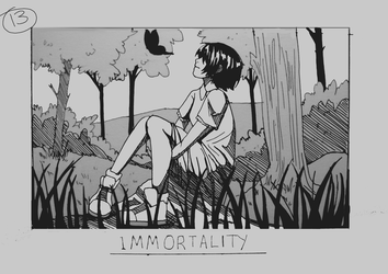 Day 13 - Immortality by Inui-Purrl