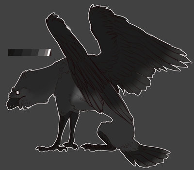 -The Crow- 2018 ref by ColdBrewCanid