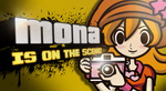 Mona For Smash brothers 4 by Kyon000