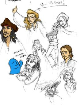 Some Old Pirates by moderate-mind
