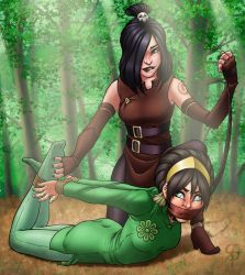 Toph and June: Earth-Bounding by SneakAttack1221
