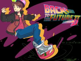 back to the future by Invader-celes