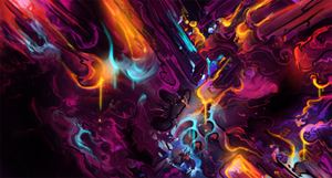 abstract #2 by iagoblack