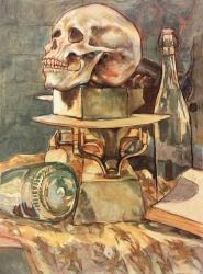Still Life with Skull (2005) by LAN0RA