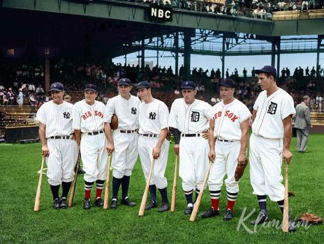 American League's All Star Players, ca. 1937 by klimbims