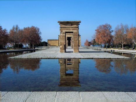 Temple of Debod by cemacStock