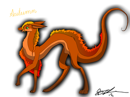 Autumn character reference by XxPuppyProductionsxX
