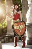Wonder Woman - dc Comics by FioreSofen