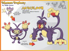Ambabloon Evolution of Ambipom