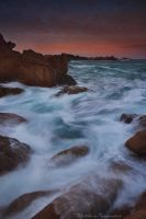 The Pink Coast by matthieu-parmentier