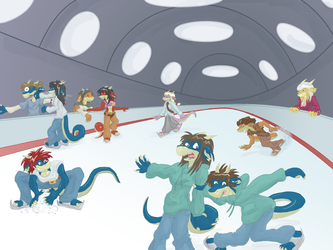 Ice rink by Morgoth883