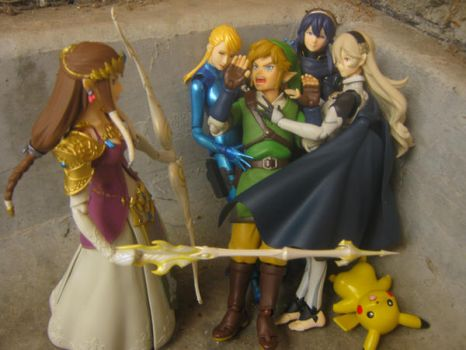 A Link Between Waifus by SmashBros2008