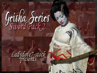 Geisha Sword PACK 2 by themuseslibrary