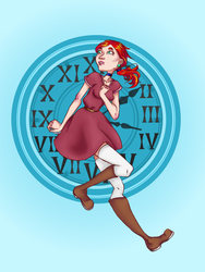 Time travel girl, another version by Alexijanka