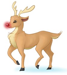 Rudolph by WingSketcher