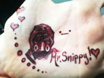 Mr. Snippy Hand Doodles Full View by BriconBits