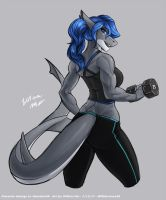[C] ' Workout shark' by WMDiscovery93