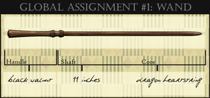 HA: Rowan's Wand by dreaminpng