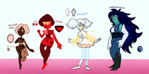 Collab-Rebel Gems Adopts (2/4) OPEN by popinat