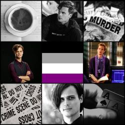 Asexual Spencer Reid Moodboard by Maune1998