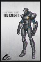 The Knight - Concept by darthrith