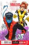 Nightcrawler and Kitty Pryde