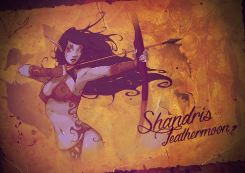 - SHANDRIS FEATHERMOON - WOW BR Collab by laurasardinha