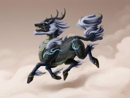 Qilin by Sleepingfox