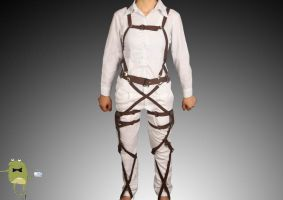 Attack on Titan Belts and Harness Cosplay Straps by cosplayfield