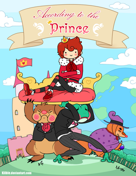 According to the Prince - Cover page by Kiibie