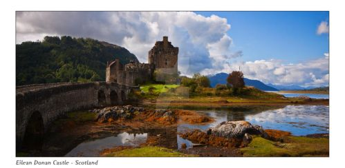 Eilean Donan Castle - Scotland by DL-Photography