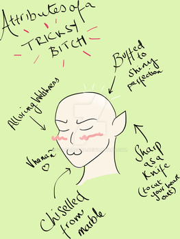 This Tricksy Bitch - Solas by corpsetrashparty