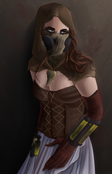 Mistress of Fear :Commission: by Pilot-Obvious